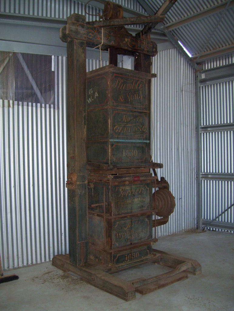 Humble wool press