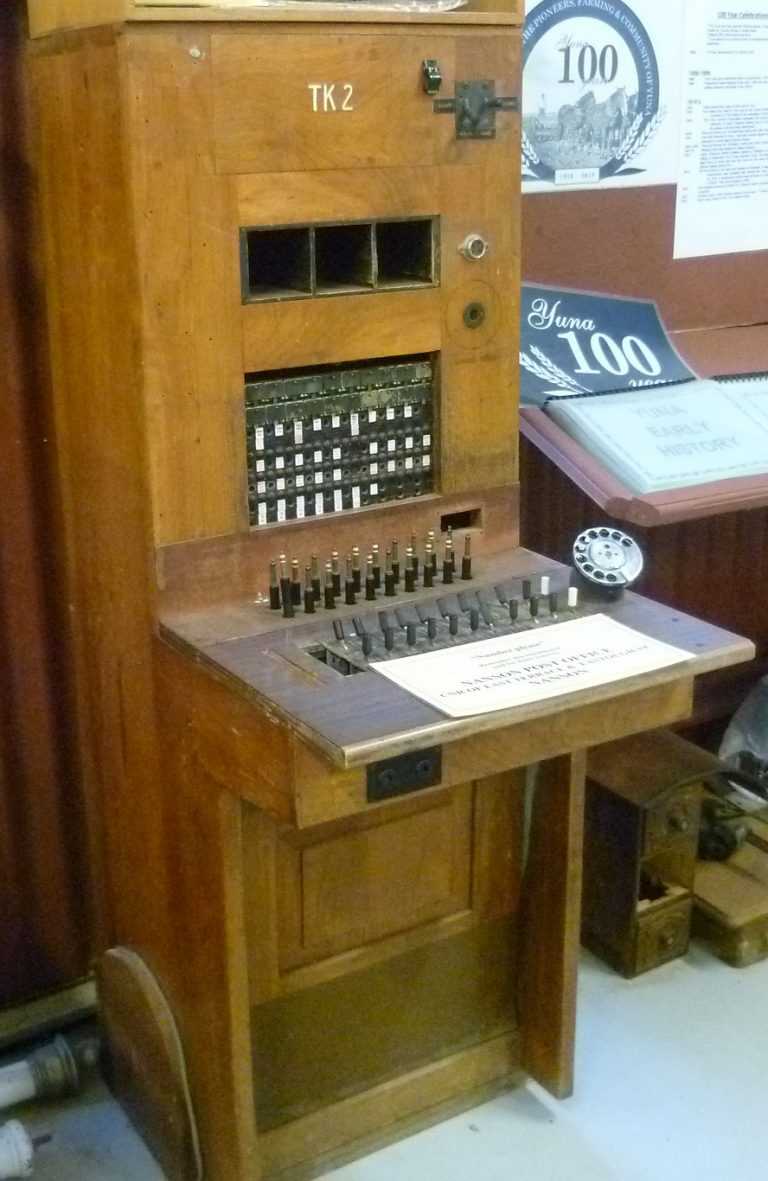 Switchboard at Chapman Valley museum