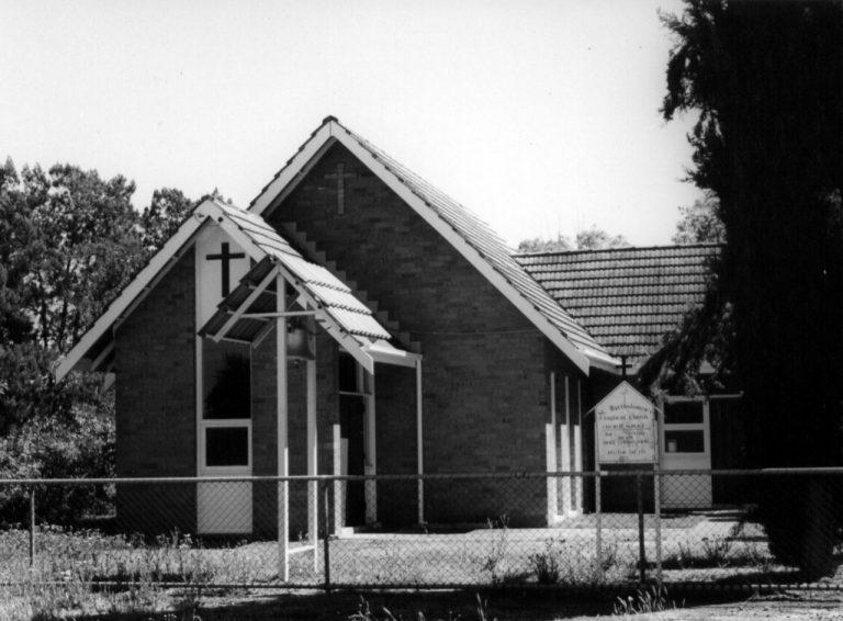 St Bartholemew's Anglican Church at Nabawa