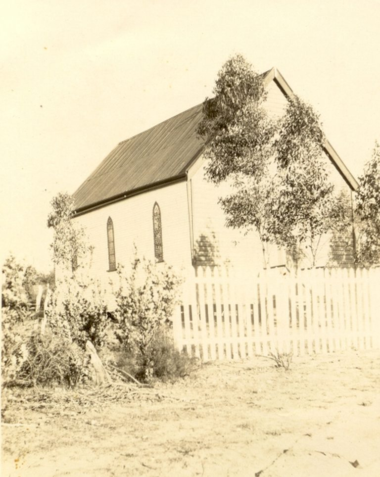 First Anglican Church at Nabawah about 1920