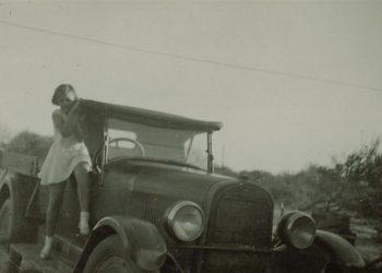 Barkers Studebaker truck & Shirley