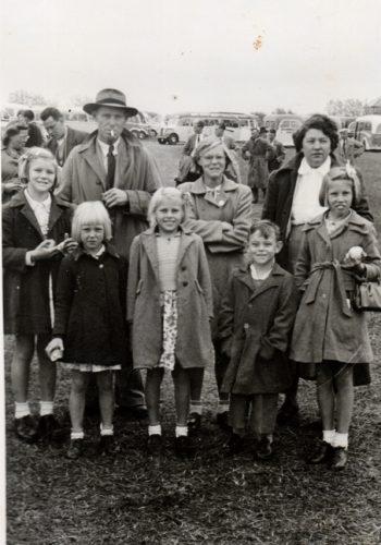Batten Family in England 1955