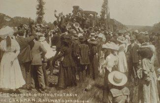 Chapman Valley Railway Opening 1910