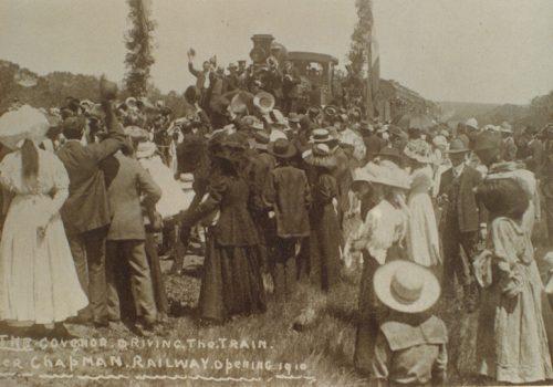 Chapman Railway Opening 1910