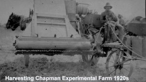 Harvesting Chapman Research Station 1920s