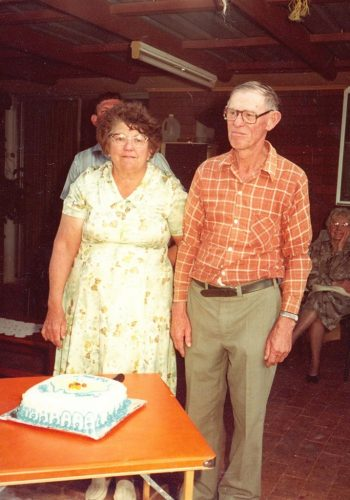 John's 70th and Evelyn 1982