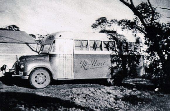 Miss Una School Bus 1960s