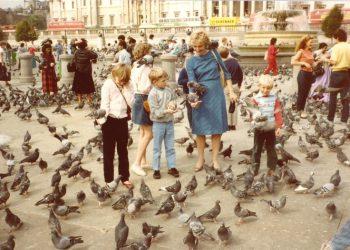 Trafalgar Square England 1984