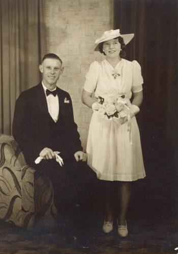 John & Evelyn 1940