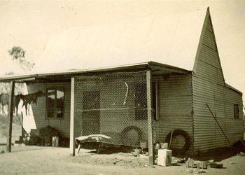 Woodlands old homestead no bathroom 1946